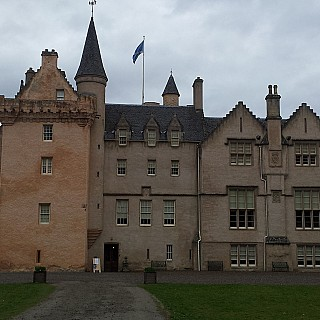 Brodie Castle near Forres