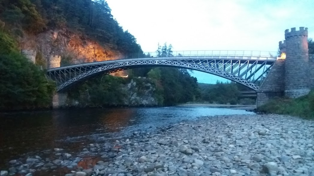 Craigellachie Bridge, Moray Speyside